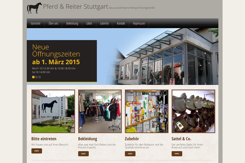 Pferd und Reiter Stuttgart